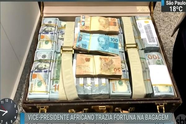 赤道几内亚副总统入境巴西 携钜款名表闯关遭扣留