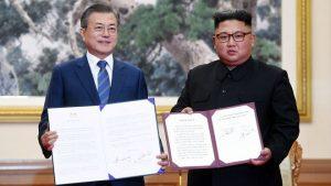 文金簽署平壤宣言 首次達成「無核化協議」