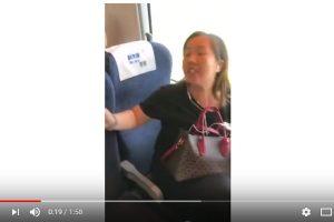 """中国高铁""""霸座男""""之后  又现霸座女(视频)"""