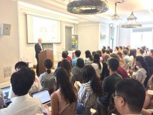 深入校園談台灣透過「國際合作」促進「永續發展」