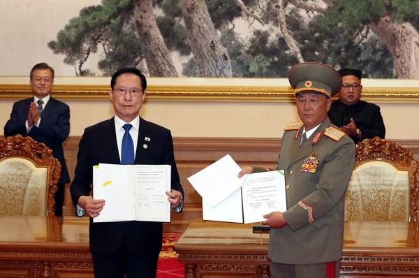 韓朝簽軍事協議 美學者:警惕金正恩意圖
