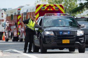 马里兰配送中心爆枪击案 3死5伤女枪手自杀