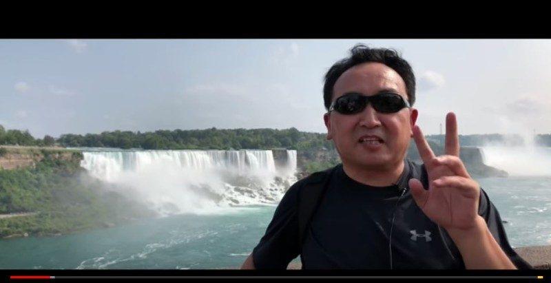 《涛哥游记》尼亚加拉大瀑布 — 雷神之水 越万年的造化 鬼斧神工 世界三大著名瀑布之一(视频)