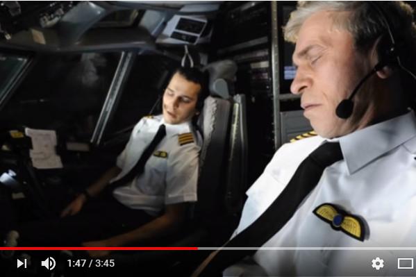 飛機冷知識:機長曾在飛行期間睡著過?(視頻)
