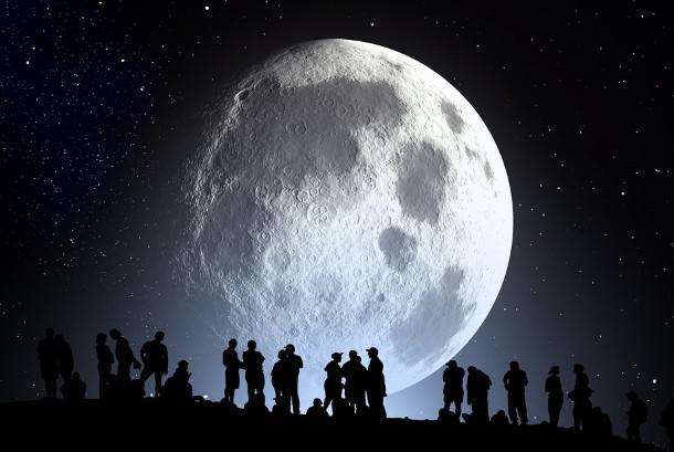 月球不但是人造 还曾超过20万人在那工作(视频)