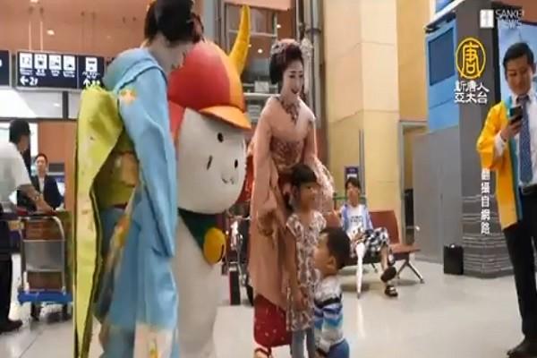 救观光 日本关西机场17天迅速站起来