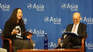 臺灣「數位閣員」唐鳳與美國國務院前亞太助卿羅素對談