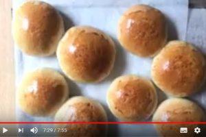 奶皇小麵包 柔軟蓬鬆美味做法(視頻)