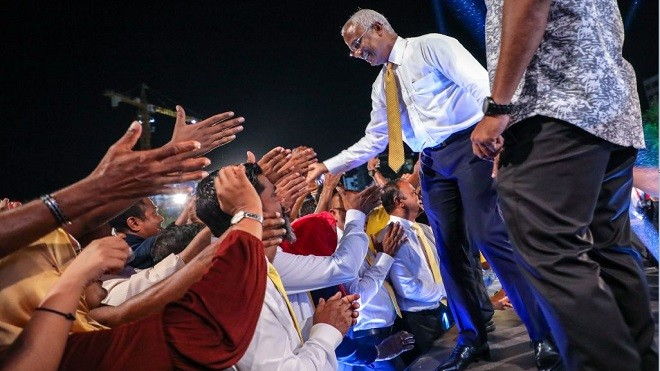 馬爾代夫變天 親中總統敗選 民眾喜出望外