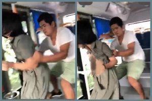 陸男公車當眾猥褻女子 受害女絕望哭叫無人幫(視頻)