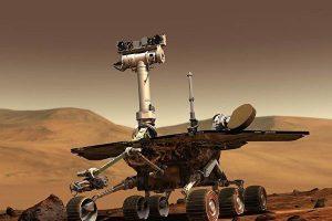 遭沙尘暴侵袭后冬眠 机遇号火星车现踪迹