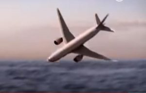 國家地理重現馬航MH370「死亡螺旋」墜機場面(視頻)