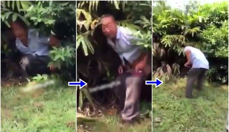這次輪到非洲!中國大叔加納花園內大便被罰鏟屎
