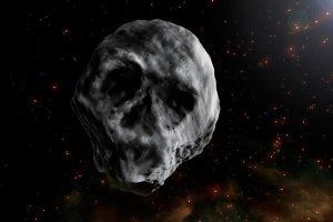 驚!一顆巨大骷髏頭正在靠近地球