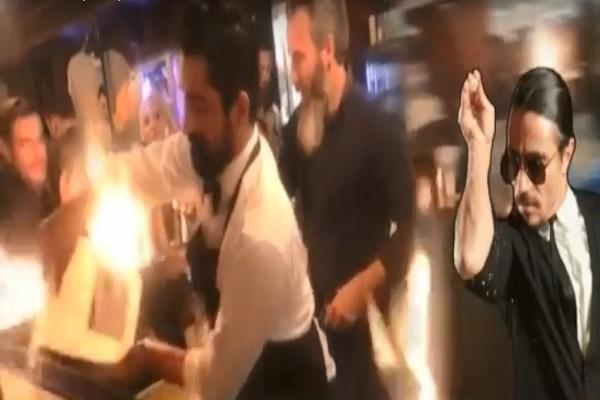 不明液體倒入火焰 「撒鹽寶貝」餐廳陷火海6傷