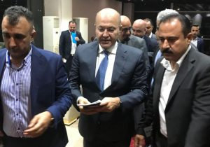 伊拉克总统大选 库德族沙雷以219票对22票击溃对手