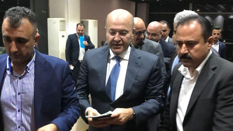 伊拉克總統大選 庫德族沙雷以219票對22票擊潰對手