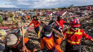 印尼強震海嘯已奪1558人命 近20萬人需人道援助