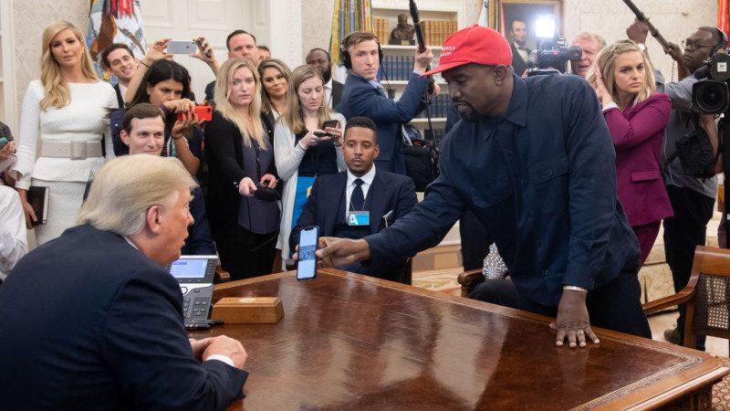 受邀入白宮赴宴 威斯特:戴川普帽感覺如超人