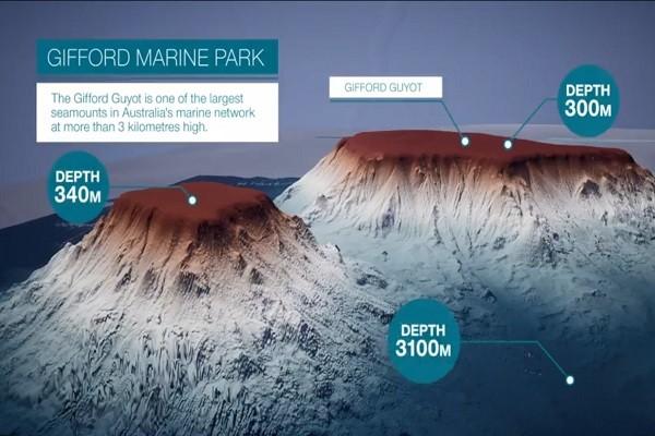 失落世界 科學家發現:塔斯曼海底山脈高達3000公尺(視頻)
