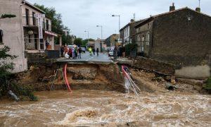 法國西南部降暴雨 村莊遭暴洪侵襲至少13死