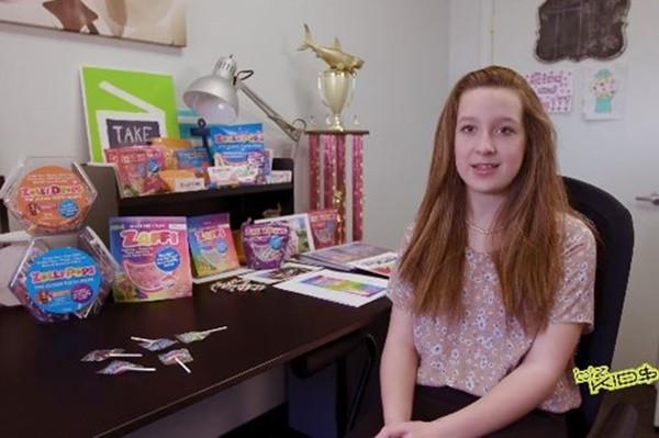 「不會蛀牙棒棒糖」13歲執行長登亞馬遜熱銷榜