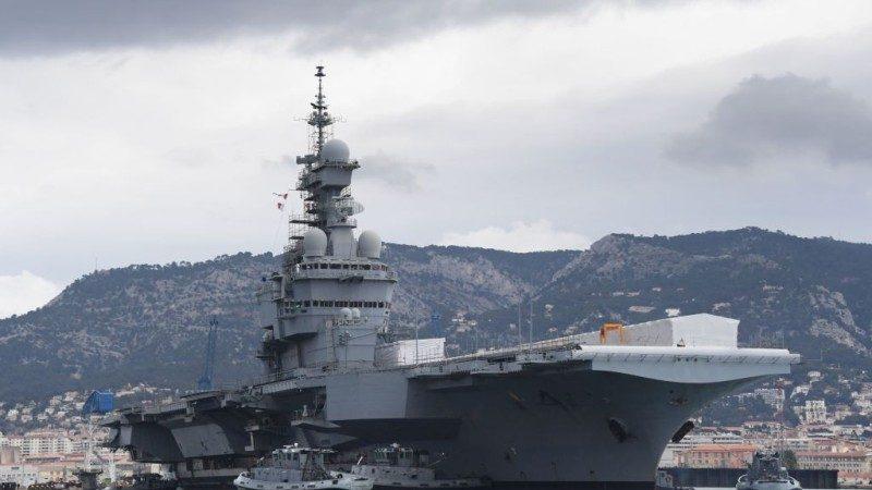 捍衛航行自由 法國明年派遣航空母艦赴印度洋