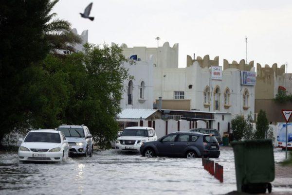 沙漠国家淹大水 卡达1天降下整年雨量