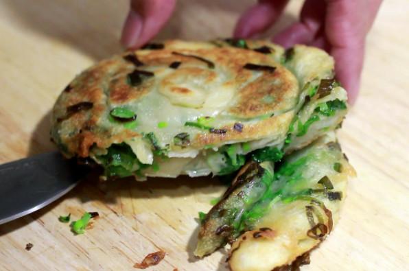 宜蘭蔥餅 蔥綠篇(視頻)