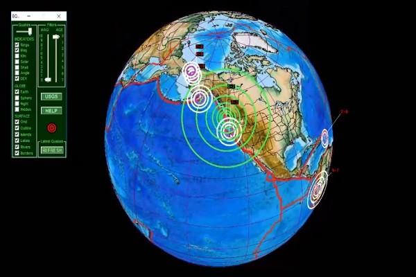 加拿大卑诗省1小时3起规模6.5以上强震