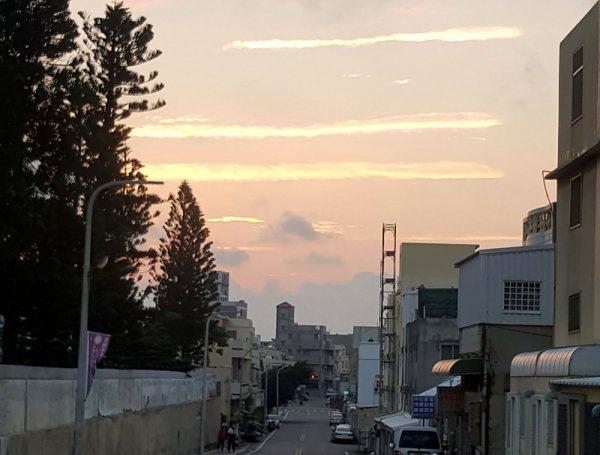 澎湖天空出現3條線 氣象站給出答案