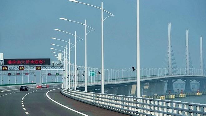 港珠澳大桥不是人人都能上 法媒:必须符合2条件