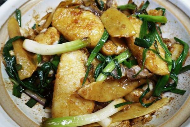 港式小菜 姜葱鱼腩煲(视频)