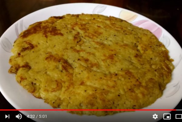 馬鈴薯煎蛋 只需兩樣食材(視頻)