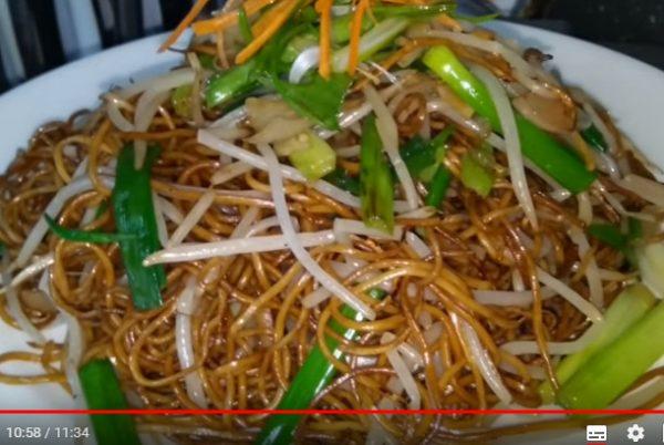 正宗豉油王炒麵 家庭簡單做法(視頻)