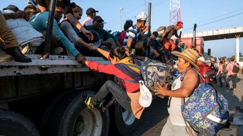 中美洲移民壓境 墨西哥:提供援助 含醫療及工作
