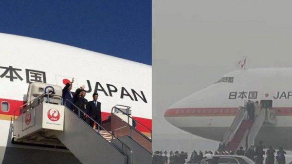 安倍訪華一組照片被聚焦 北京尷尬