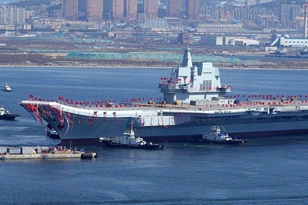 中共海軍戰艦規模超美  仍被美軍吊打