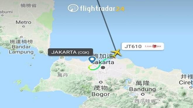 印尼狮航客机坠海凶多吉少 机上189乘客中有23名官员