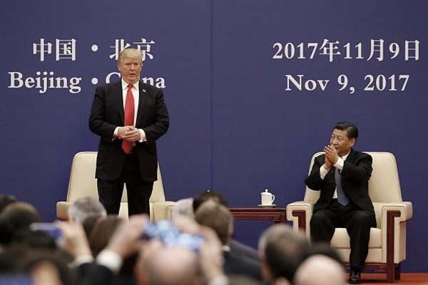 川普自曝訪華演講曾突然變調 習近平滿臉愕然
