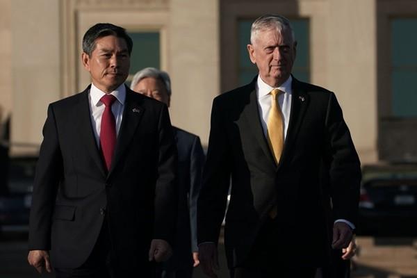 美韓戰時指揮權將移交 駐韓美軍仍留守