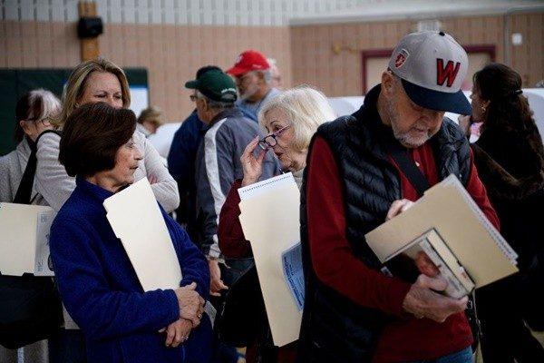 美2400萬選民已投票 投票率或創百年新高
