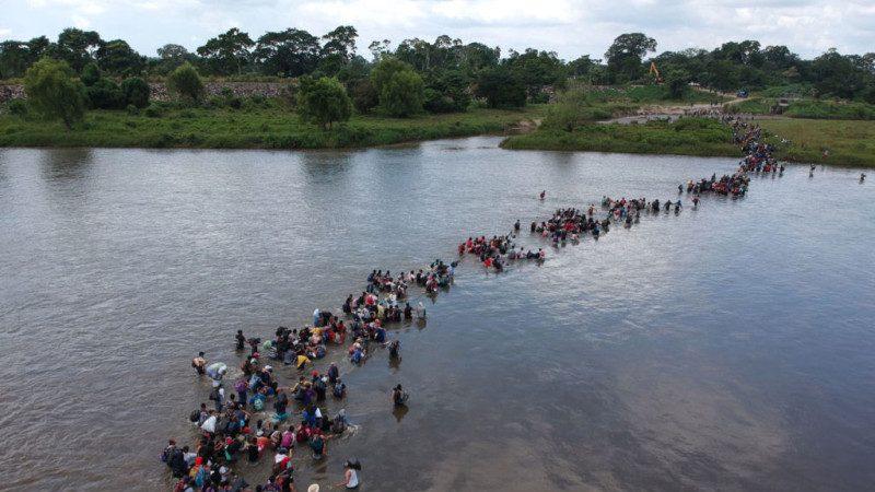 美國土安全部:大篷車移民來自20國 含270名罪犯