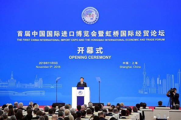 上海进博会 习近平再度承诺开放市场