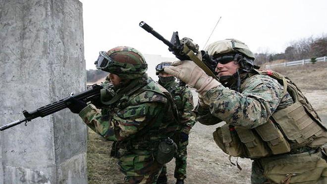 反擊朝鮮要挾?美韓海軍陸戰隊重啟聯合軍演