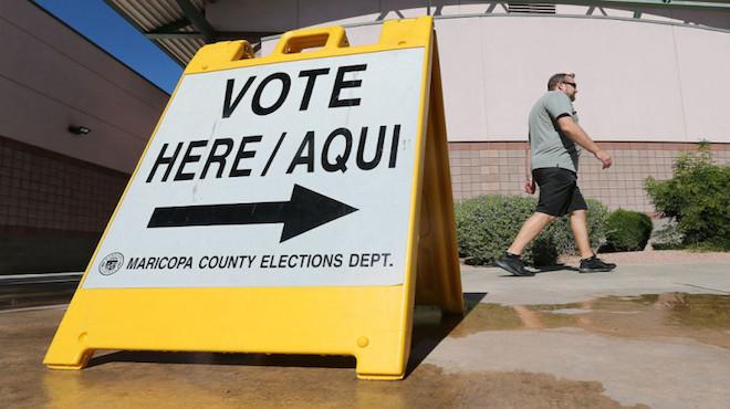 亚利桑那选情异常 机器故障投票叫停