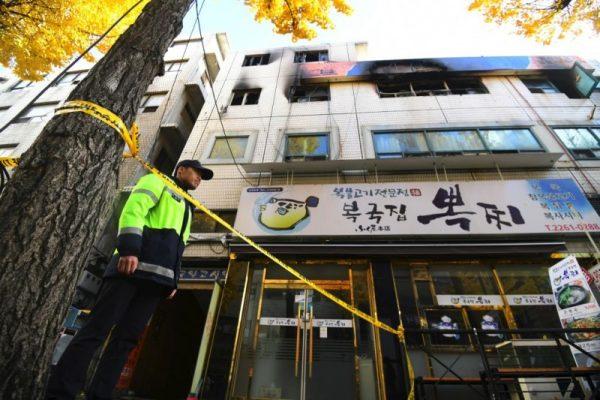 首尔出租公寓惊传火警 酿7死11伤