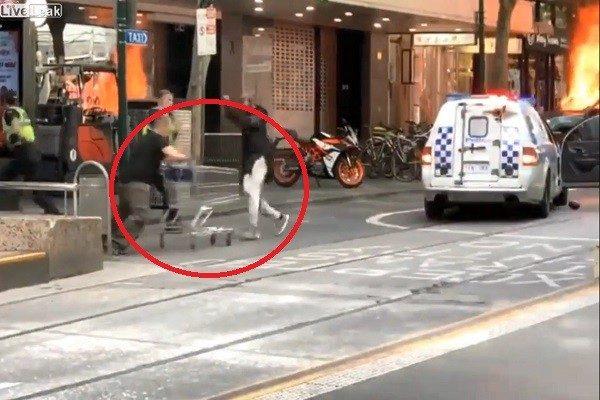 「手推車俠」大戰「孤狼」恐攻  澳洲街友獲鉅額捐款