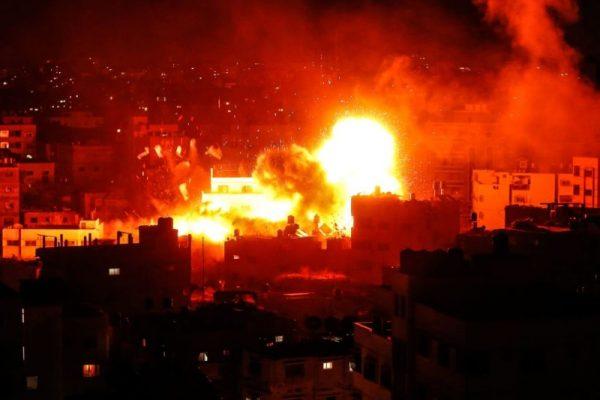 以巴衝突再起 加沙數百枚火箭狂轟以色列