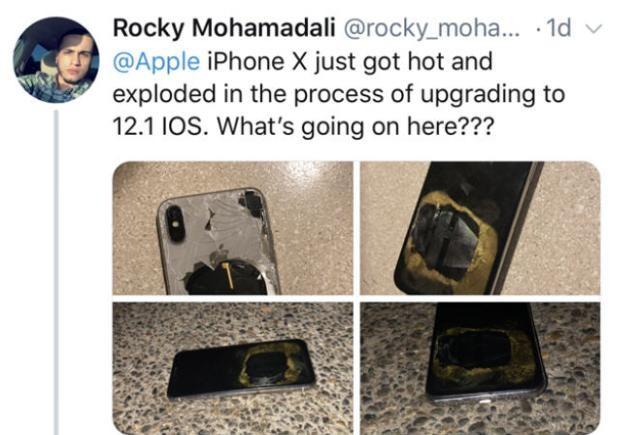 iPhone X更新iOS 12.1後傳爆炸 蘋果緊急調查
